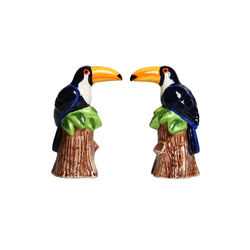 Toucan Salt and Pepper Shaker Set