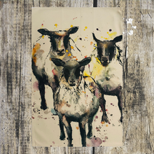 Load image into Gallery viewer, Sheep Tea Towel - ad&i