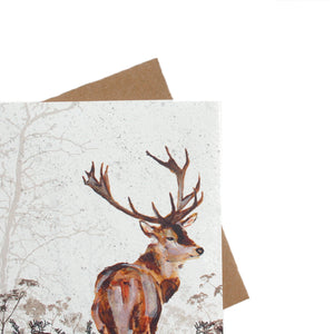 Stag Greetings Card - ad&i
