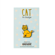 Load image into Gallery viewer, Cat Enamel Pin Badge - ad&i