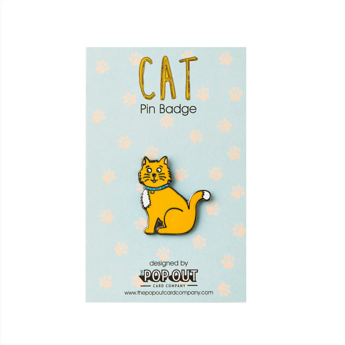 Cat Enamel Pin Badge - ad&i