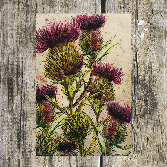 Thistle Tea Towel - ad&i