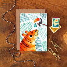 Load image into Gallery viewer, Tiger and Toucan Card - ad&i