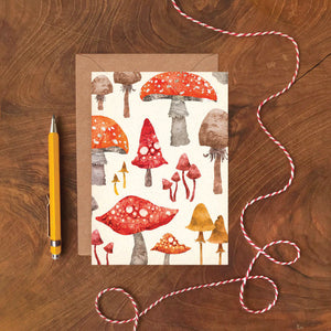 Toadstool Card - ad&i