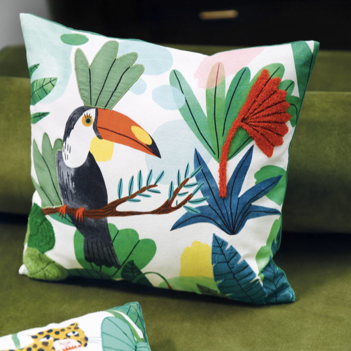 Bodil Jane Tropical Cushion - ad&i