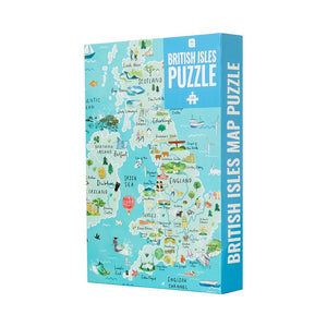 1000 Piece British Isles Map Jigsaw Puzzle