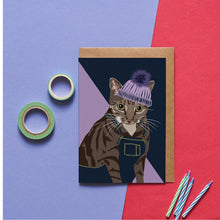 Load image into Gallery viewer, Cleo the Cat Greeting Card