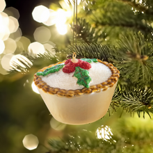 Load image into Gallery viewer, Mince Pie Christmas Tree Bauble