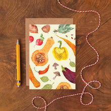 Load image into Gallery viewer, Vegetables Pattern Card - ad&i