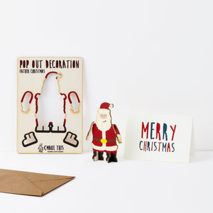Pop Out Father Christmas Card - ad&i