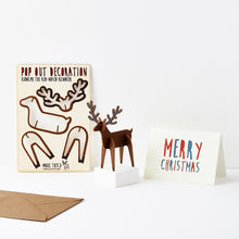 Load image into Gallery viewer, Pop Out Rudolph the Red Nose Reindeer Christmas Card