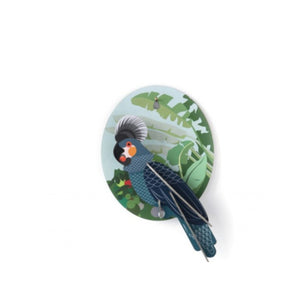 Grey Parrot Exotic Bird Wall Hanging - ad&i