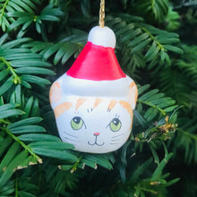 Load image into Gallery viewer, Cat in a Hat Christmas Tree Decoration