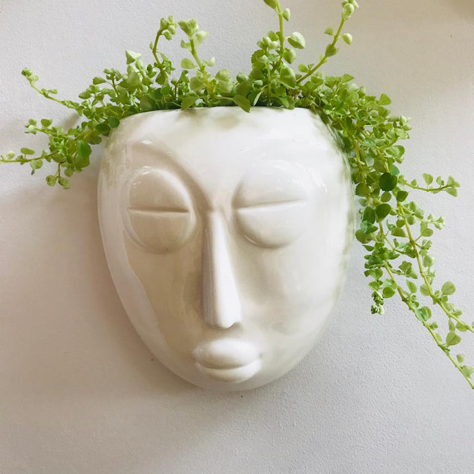 Mask Wall Planter