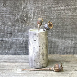 Speckled Hand Painted Mini Vase - ad&i