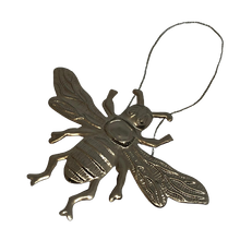 Load image into Gallery viewer, Pressed Silver Decorative Hanging Bee