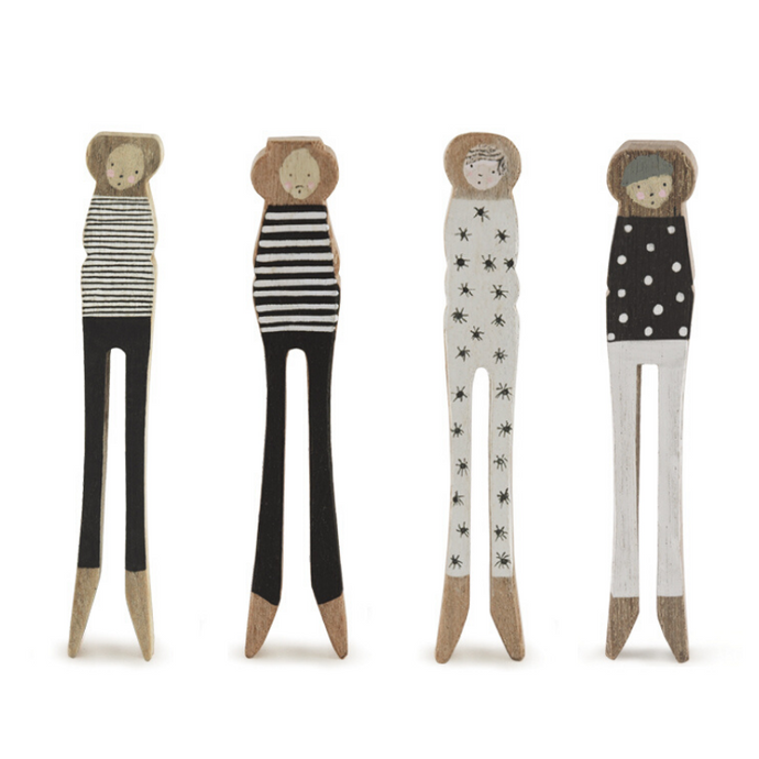 Wooden Peg People - ad&i