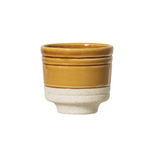Load image into Gallery viewer, Glazed Stoneware Planters - ad&i