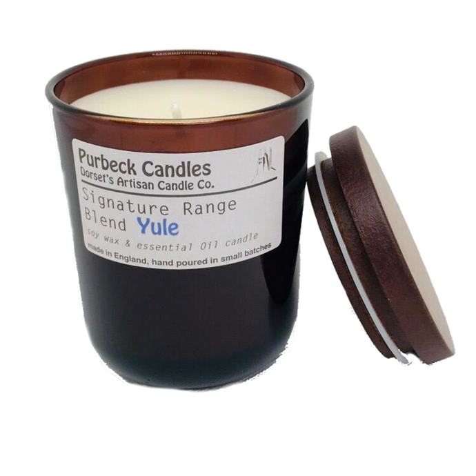 Yule Scented Soy Wax Candle