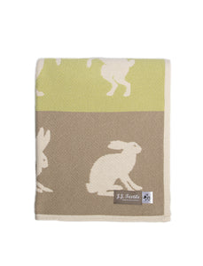 Hare Cotton Blanket - ad&i