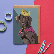 Load image into Gallery viewer, Django the German Pointer Greeting Card - ad&i