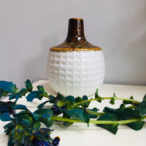 Textured Ceramic Bud Vase - ad&i