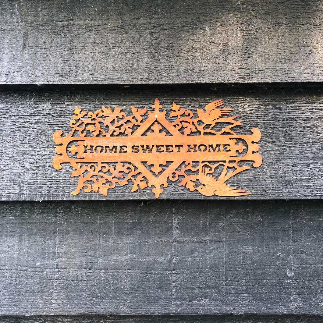 Rusty Home Sweet Home Sign - ad&i