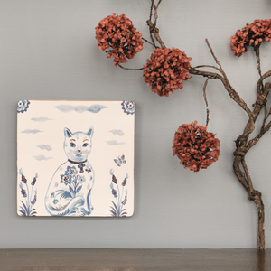 Le Chat Ceramic Story Tile - ad&i
