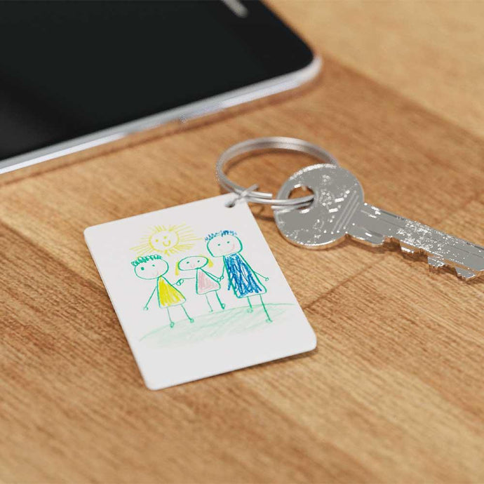 DIY Shrink Drawing Keyring Kit