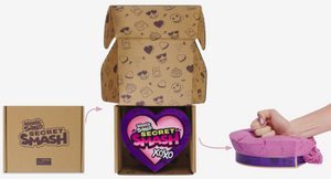 Kinetic Sand Secret Smash Packaging and Use