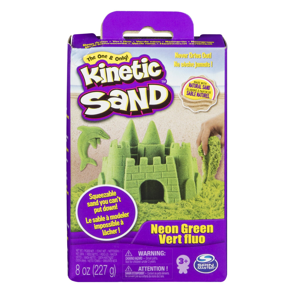 Green Kinetic Sand 8 oz