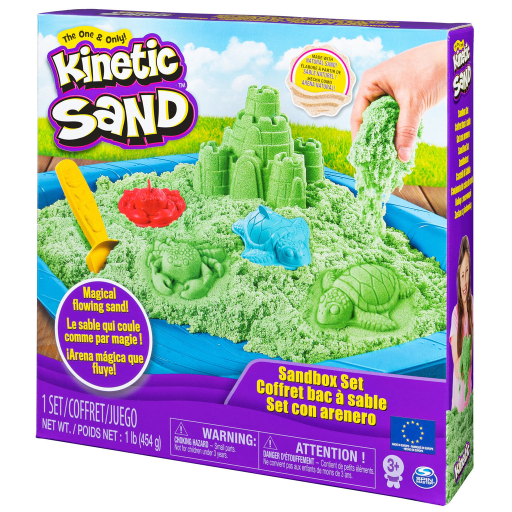 Green Sandbox Playset