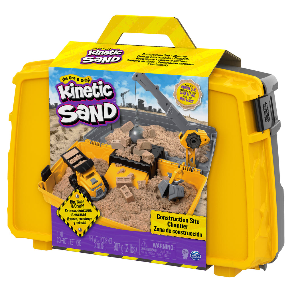 Construction Site Folding Sand Box