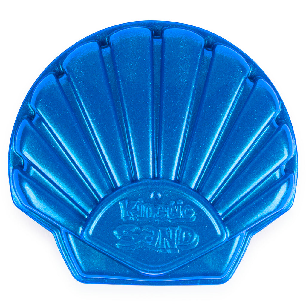 Blue Seashell Container 4.5 oz