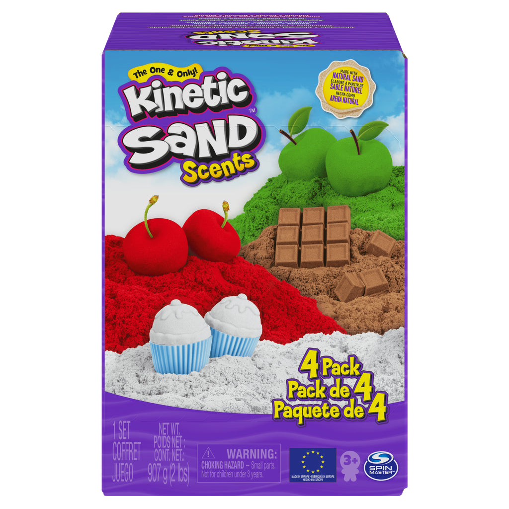 Kinetic Sand Scents 4-Pack 32 oz
