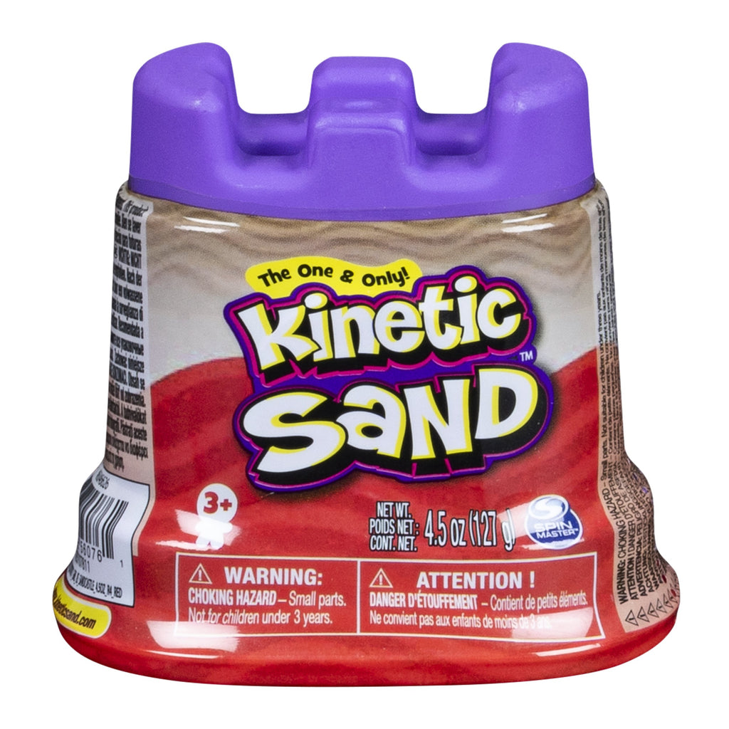 Red Kinetic Sand 4.5 oz