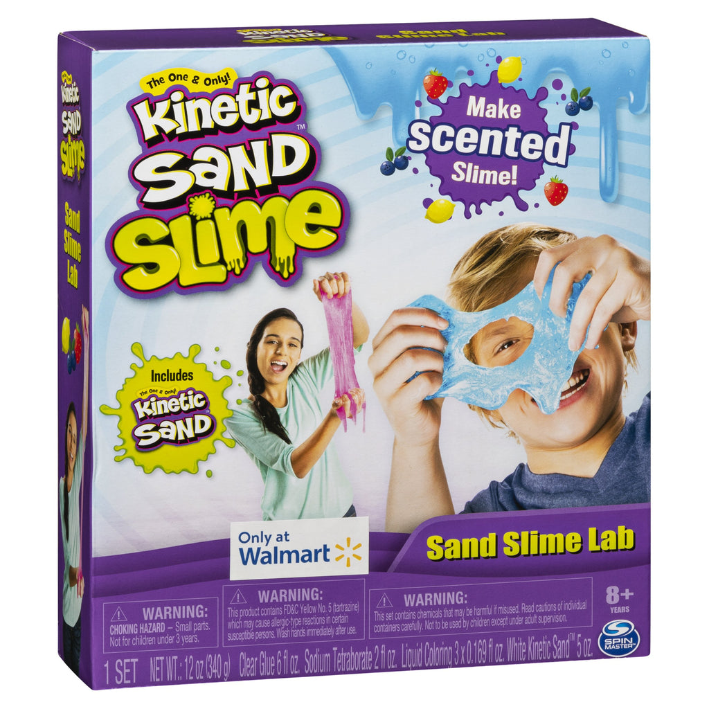 Sand Slime Lab with Scents