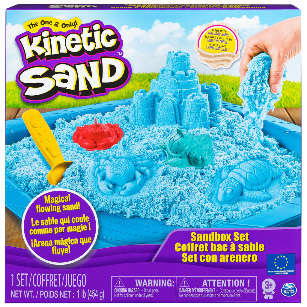 Blue Sandbox Playset