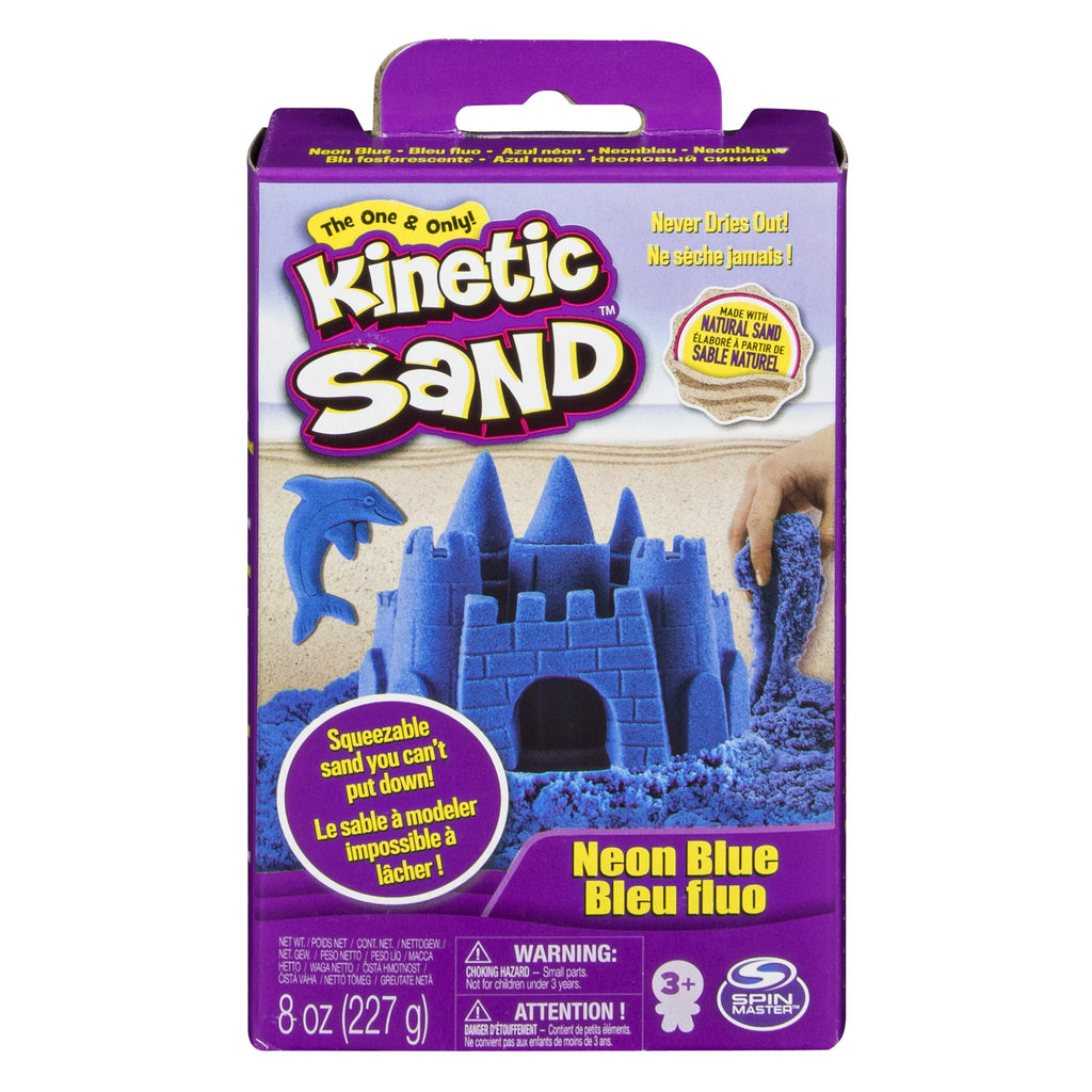Blue Kinetic Sand 8 oz