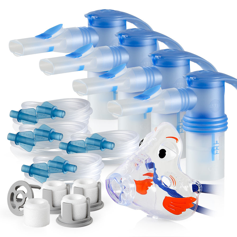 Replacement Supply Kit: Two Years of Nebulizer Supplies