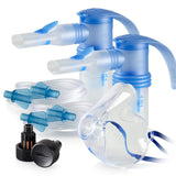 Replacement Supply Kit: One Year of Nebulizer Supplies PARI ProNeb / PARI LC Sprint with WingTip Tubing / Add 1x PARI LC Plus Adult Mask. 1x041F64P2-2x023F35-1x044F7252