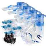 Replacement Supply Kit: Two Years of Nebulizer Supplies PARI ProNeb / PARI LC Sprint with WingTip Tubing / Add 1x PARI LC Plus Adult Mask. 2x041F64P2-4x023F35-1x044F7252