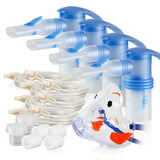 Replacement Supply Kit: Two Years of Nebulizer Supplies PARI Vios PRO / PARI LC Sprint for the Vios PRO / Add 1x PARI Bubbles Pediatric Mask. 2x085F0012P2-4x023F35-VP-1x044F7248
