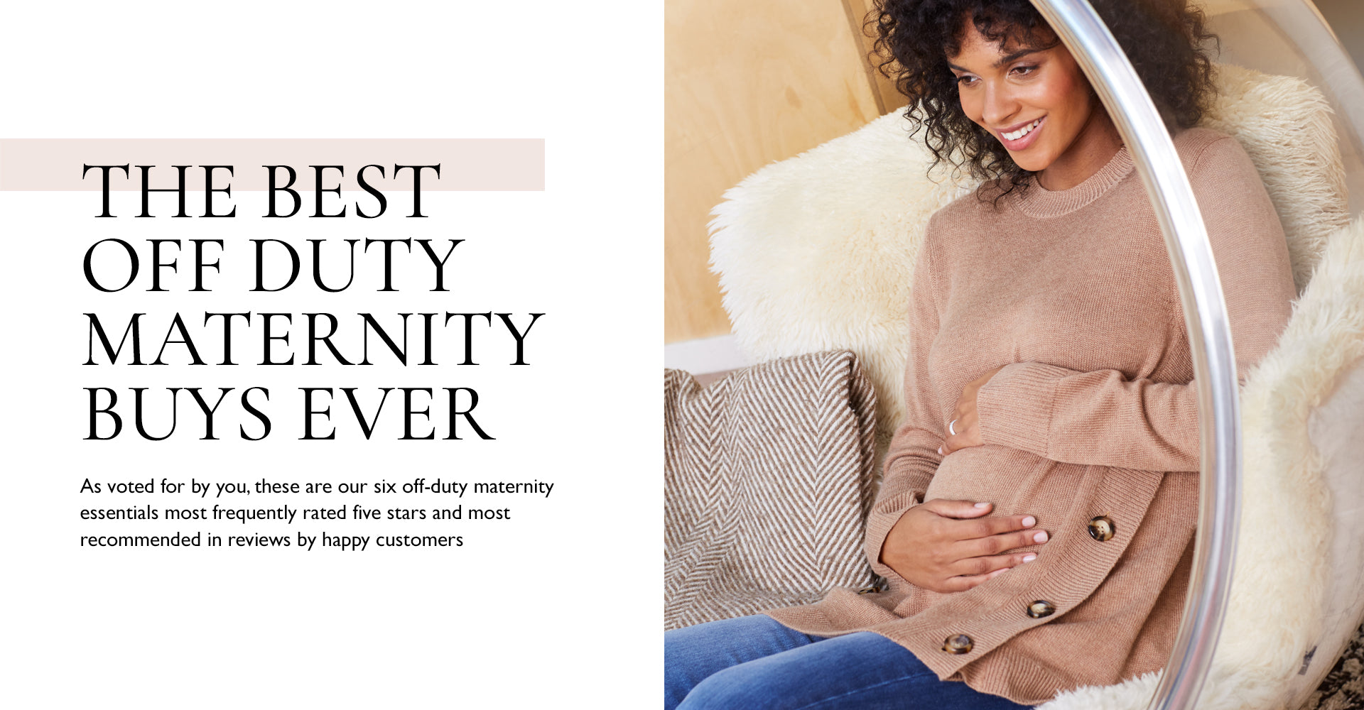 The best off duty maternity buys ever