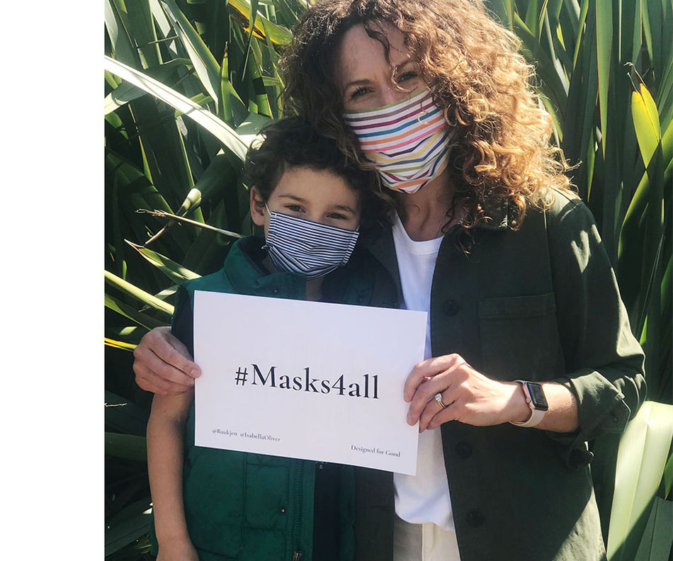 #Masks4all - Wear and share our Isabella Oliver face masks