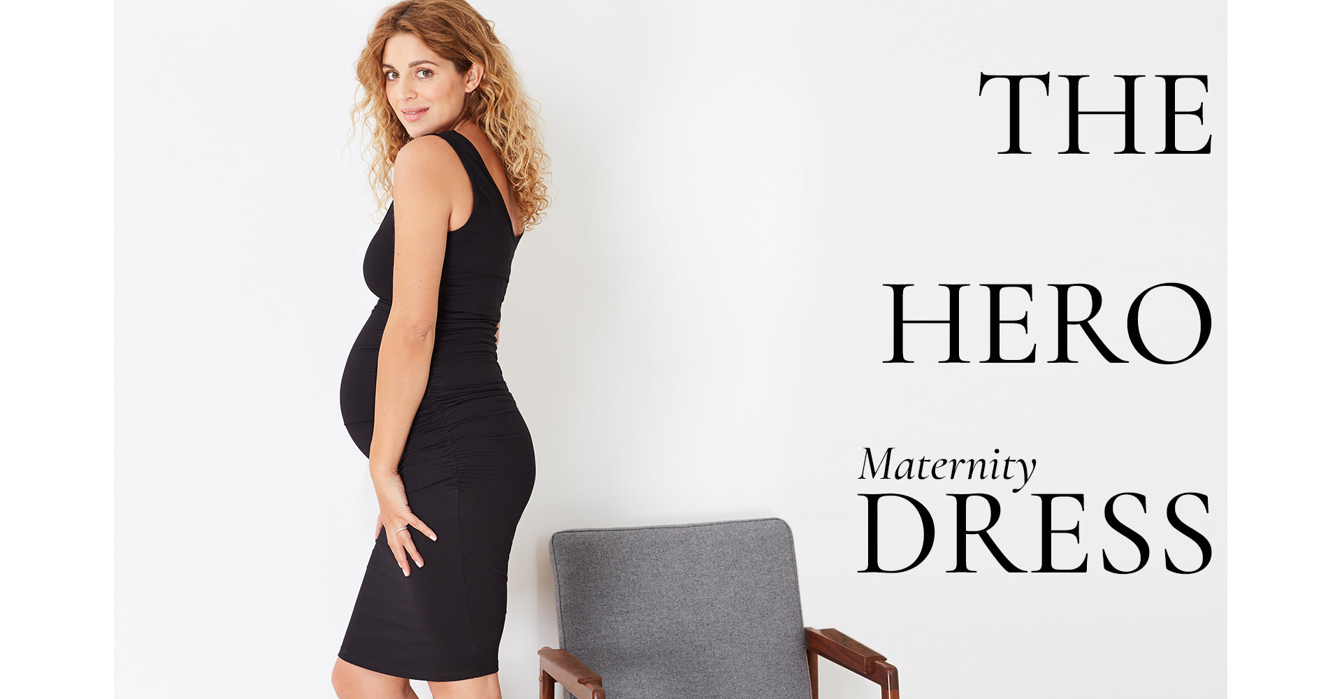 The Hero Maternity Dress