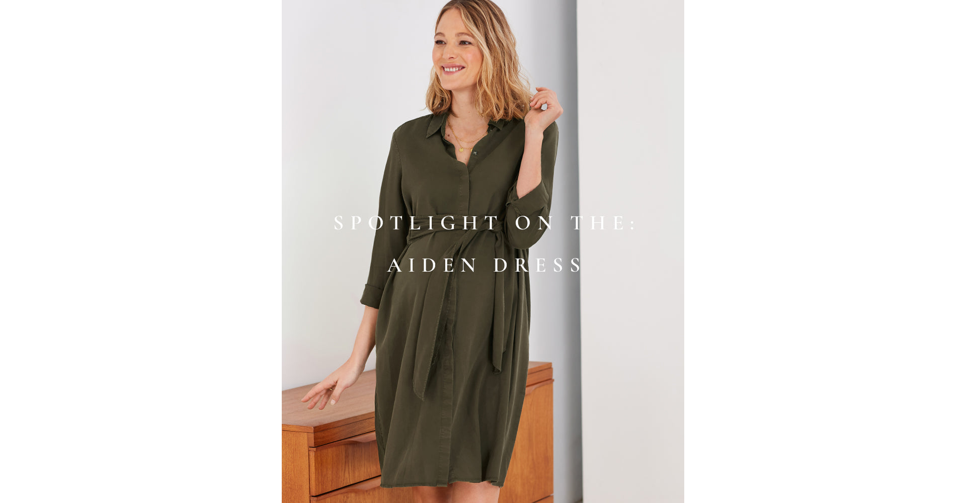 Spotlight on the Aiden Dress