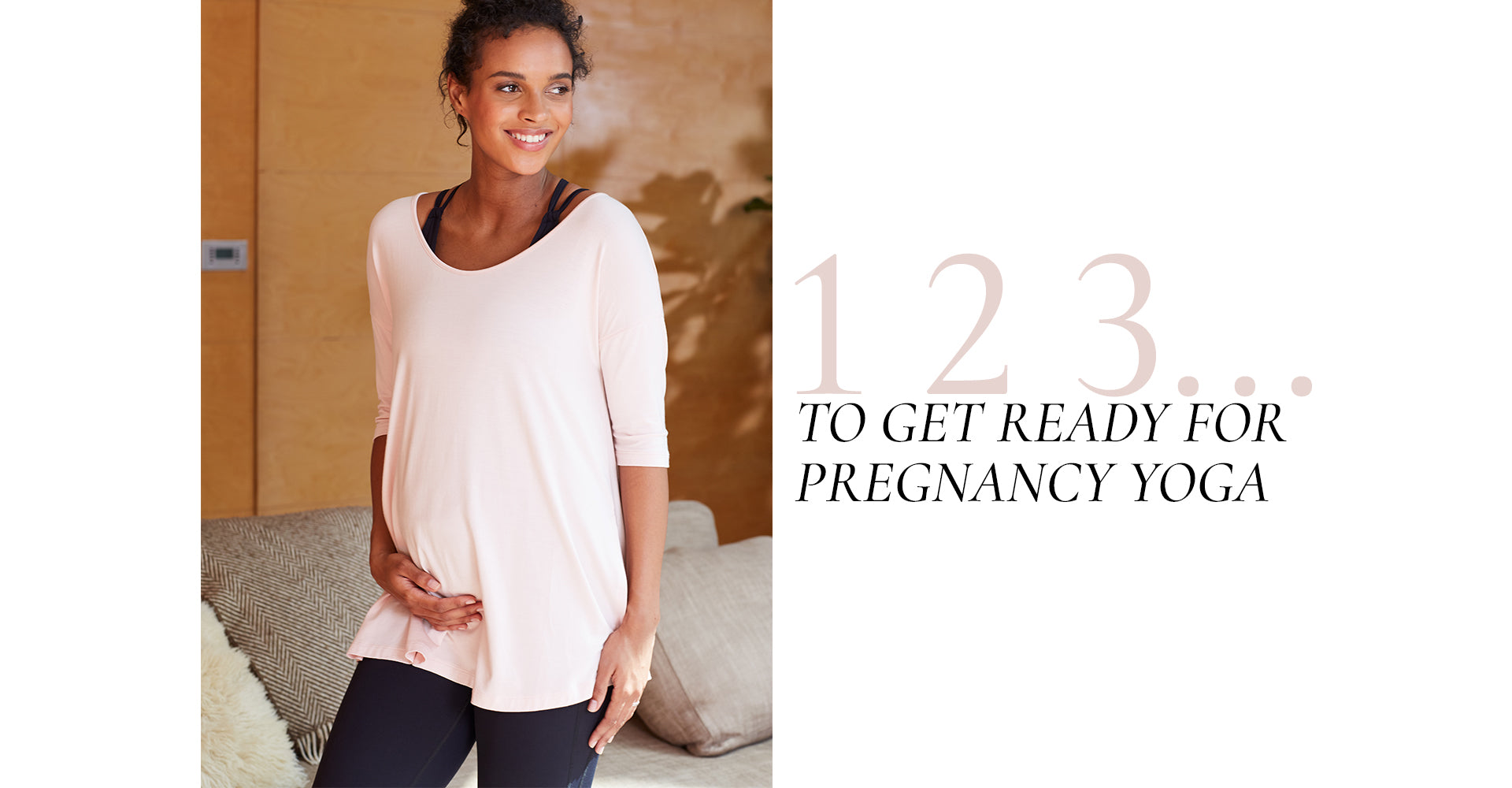 123 to get ready for pregnancy yoga