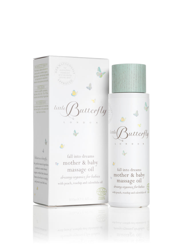 Little Butterfly London Mother & Baby Massage Oil