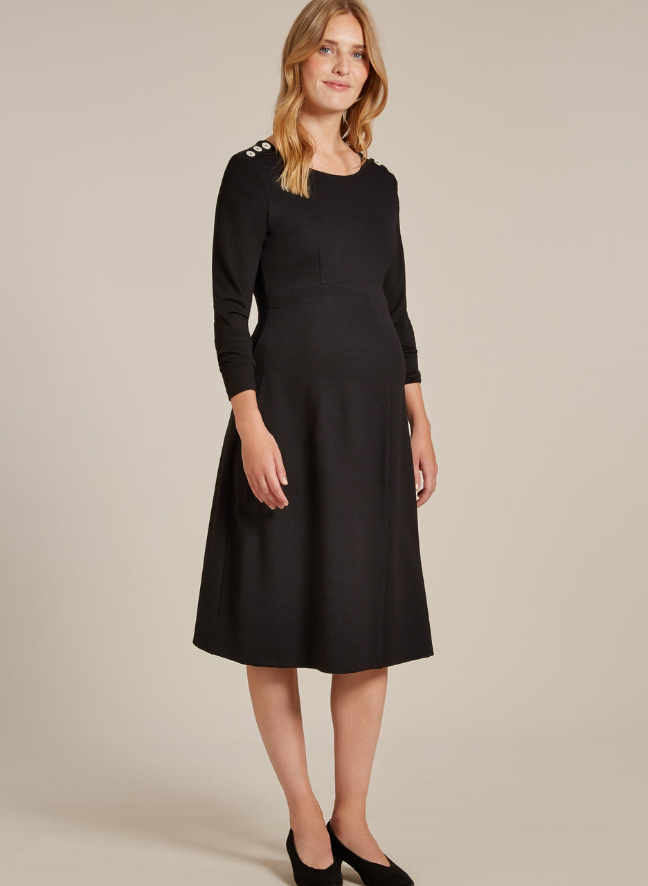 Paige Maternity Button Dress